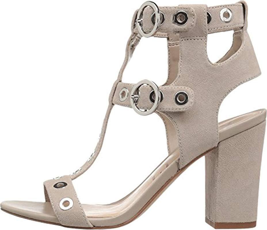 f55b5228c5560 Sam Edelman - Natural Eyda Dress Sandal - Lyst. View fullscreen