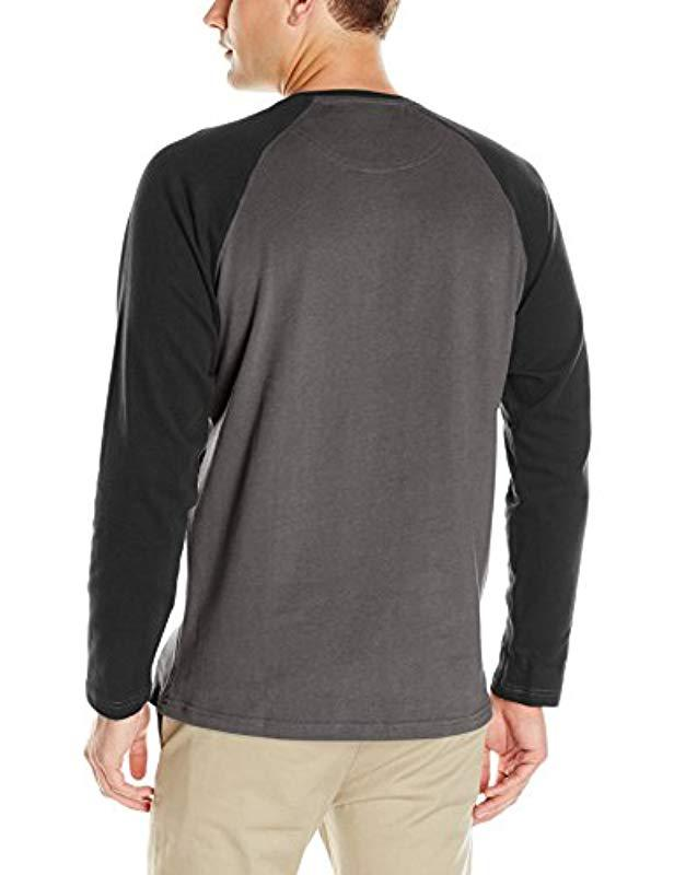 ef24296160e Lyst - Columbia Ward River Henley in Black for Men - Save 42.0%