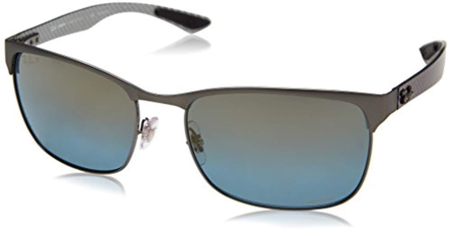 35f284441b Lyst - Ray-Ban Rb8319 Chromance Sunglasses for Men - Save 17%