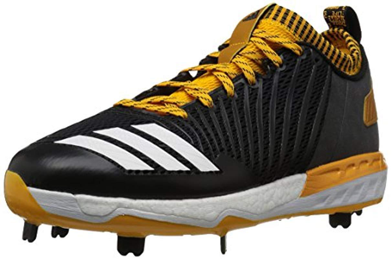 online store db669 2b3d5 Adidas - Freak X Carbon Mid Baseball Shoe, Black white collegiate Gold,.  View fullscreen