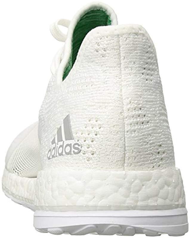 Lyst Element X White Pureboost Running Shoe Adidas In 0YUxR5