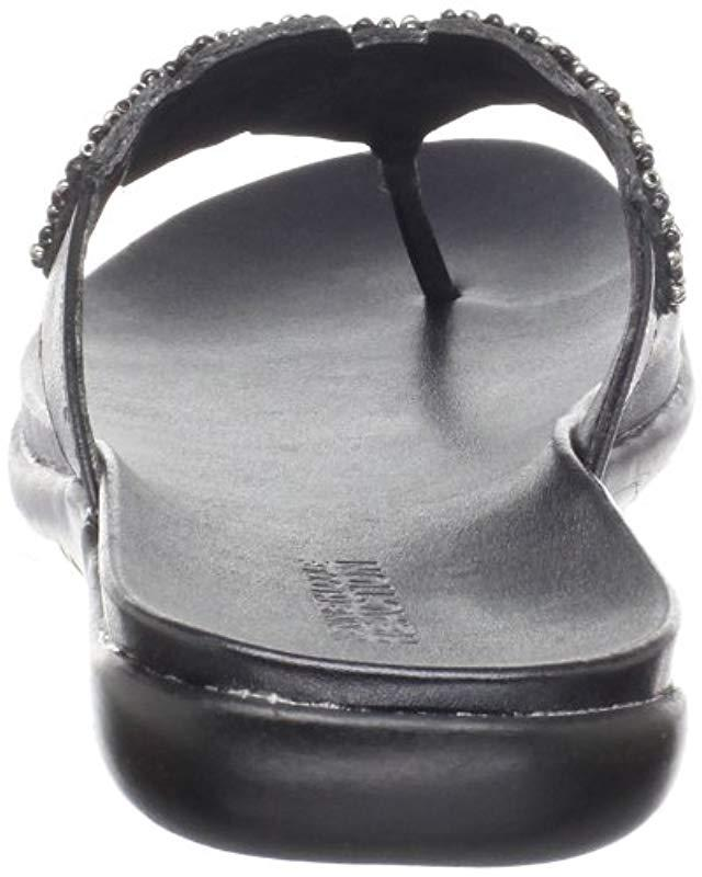 4c8018969f5314 Lyst - Kenneth Cole Reaction Reaction Kenneth Cole Glam-athon Beaded Sandal  in Black