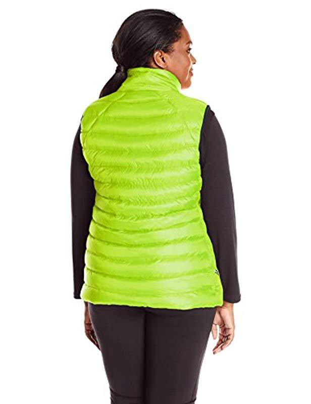 5b947947847 Lyst - Champion Plus-size Performance Poly Vest With Synthetic Down in  Green - Save 13.043478260869563%