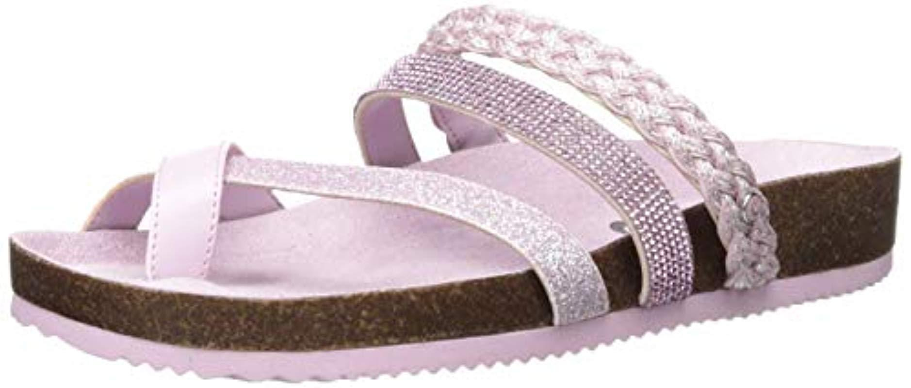 4457e626294d Lyst - Circus by Sam Edelman Oriel Flat Sandal in Purple