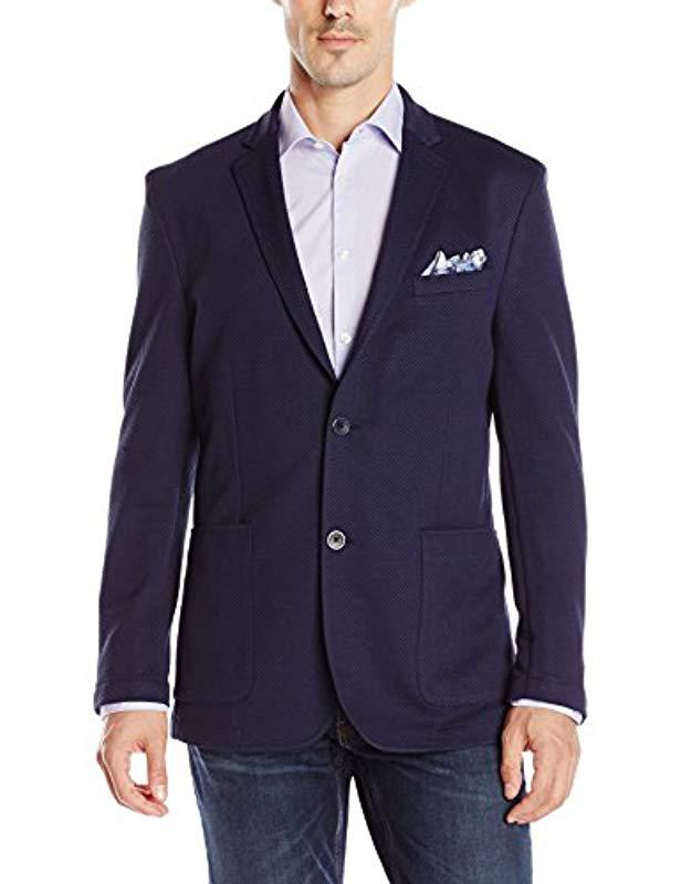 57e475ad Lyst - Vince Camuto Mesh Air Jacket in Blue for Men - Save 3%