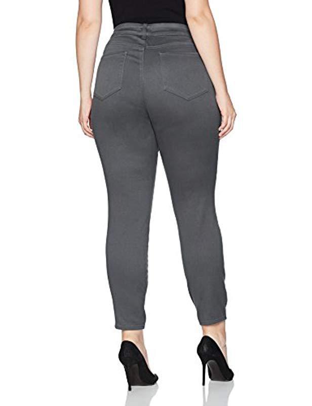 e82a0948a9f54b Lyst - NYDJ Plus Size Ami Skinny Legging Jeans In Super Sculpting Denim in  Blue - Save 61%