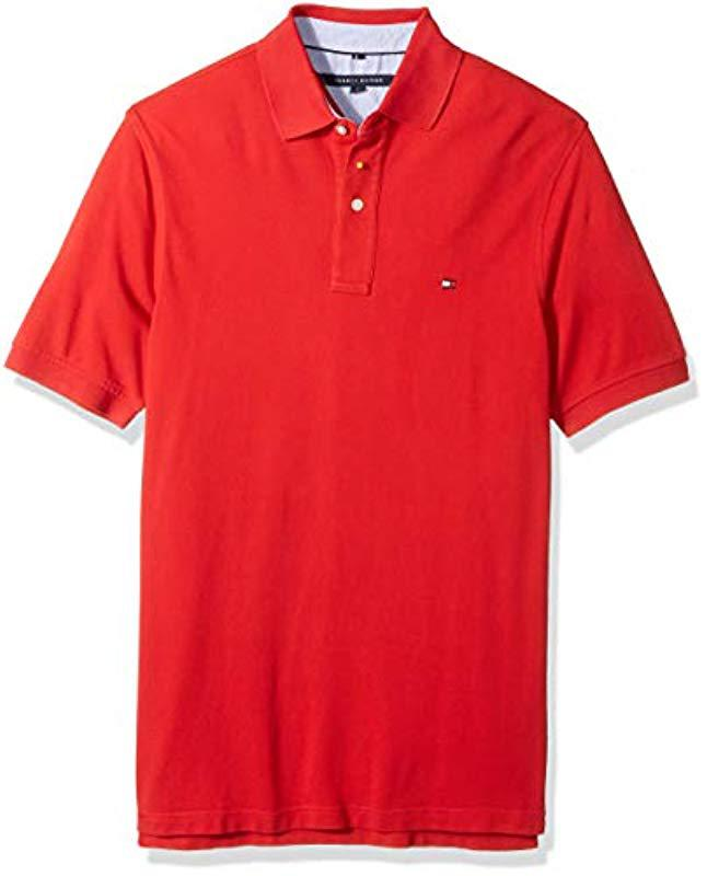 63a64b16a40 Lyst - Tommy Hilfiger Big And Tall Polo Shirt Ivy for Men - Save 25%