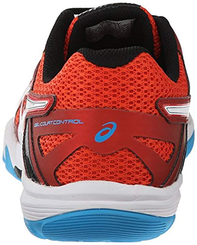 0cc213d7c4c8 Lyst - Asics Gel-court Control Volleyball Shoe in Red for Men