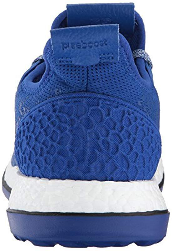 Adidas - Blue Performance Pureboost Zg Running Shoe for Men - Lyst. View  fullscreen 0d275277e