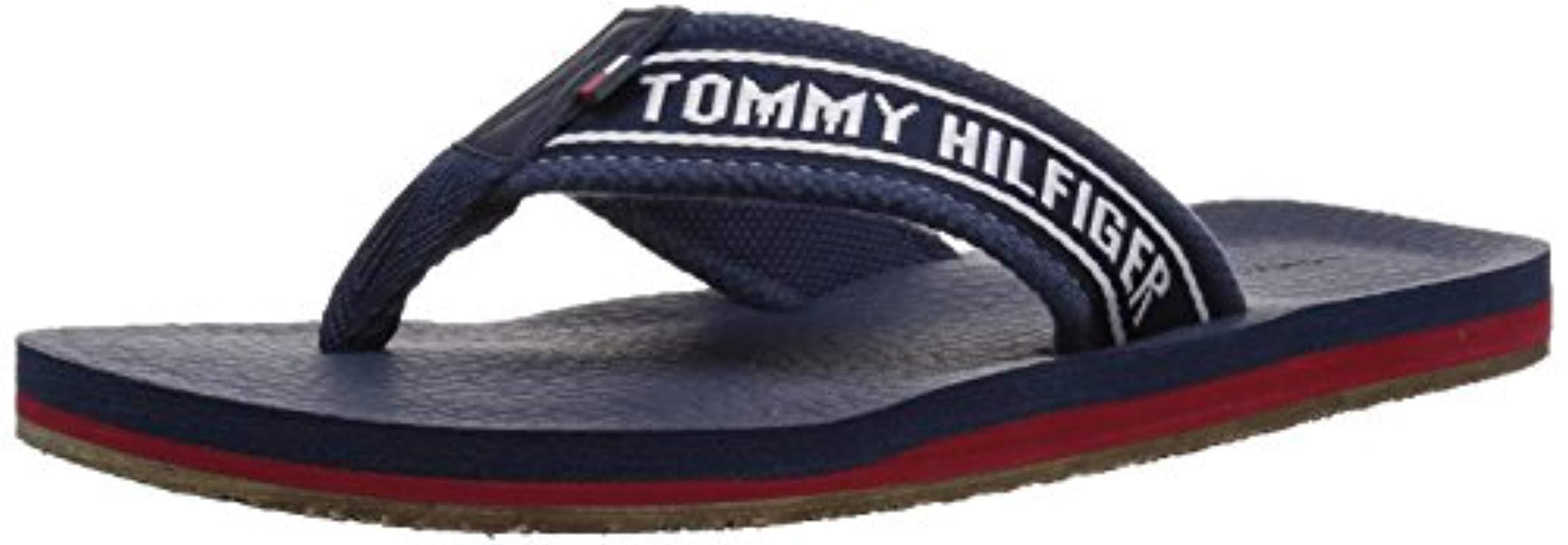 aff25bdb9da6e Lyst - Tommy Hilfiger Doland Sandal in Blue - Save 38%
