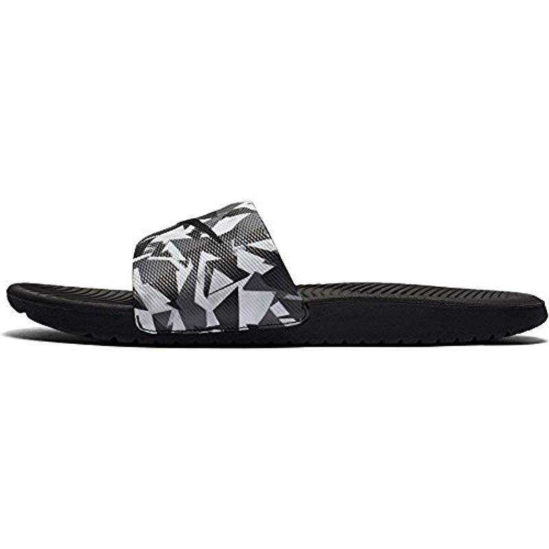 a33fa151e3d76 Nike - Black Kawa Slide Athletic Sandal for Men - Lyst. View fullscreen