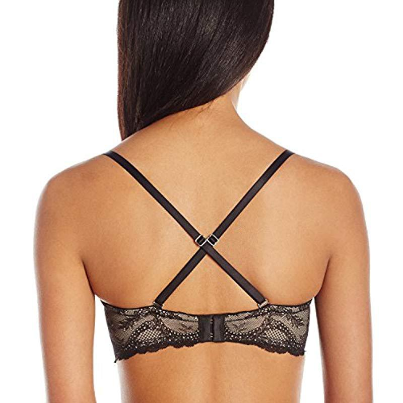21f1380560 Betsey Johnson - Black Perfectly Sexy Plunging Strapless Bra - Lyst. View  fullscreen
