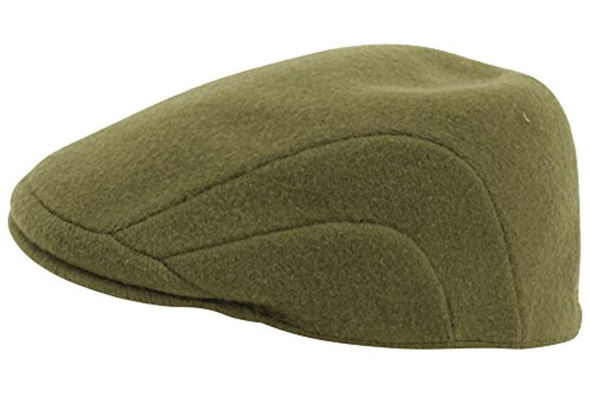 2d92c274ae6 Lyst - Kangol Wool 507 Ivy Cap in Green for Men - Save 20%