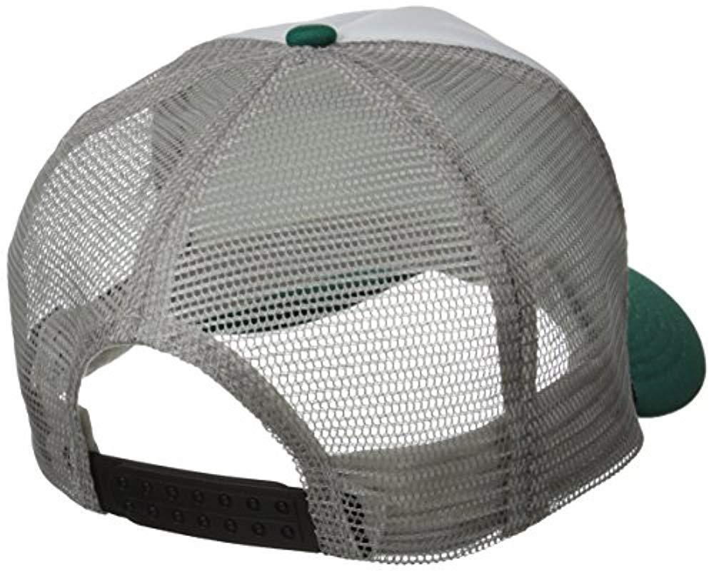 48ed09389fd01 Lyst - Billabong Amped Adjustable Trucker Hat in Green for Men