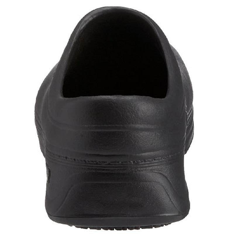 0fd996e5c75 Skechers - Black For Work Clara Slip Resistant Clog - Lyst. View fullscreen