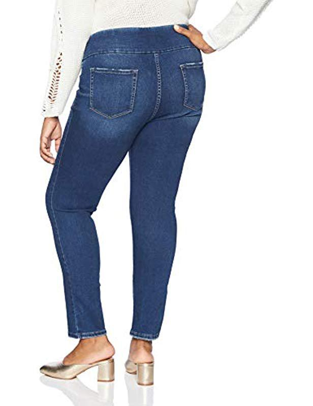 5829c10627a Lyst - Lee Jeans Plus-size Sculpting Slim Fit Skinny Leg Pull On Jean