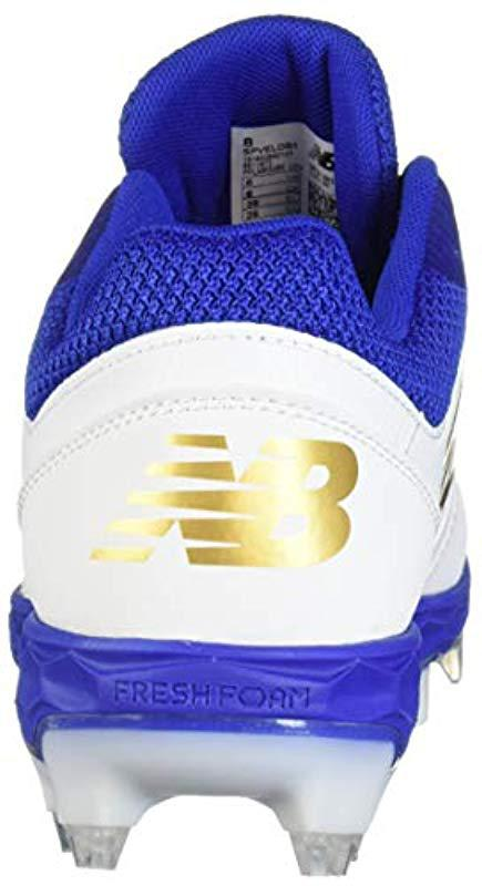 new product 5539a 79f08 Lyst - New Balance Velo V1 Molded Baseball Shoe Royal white 6 B Us ...