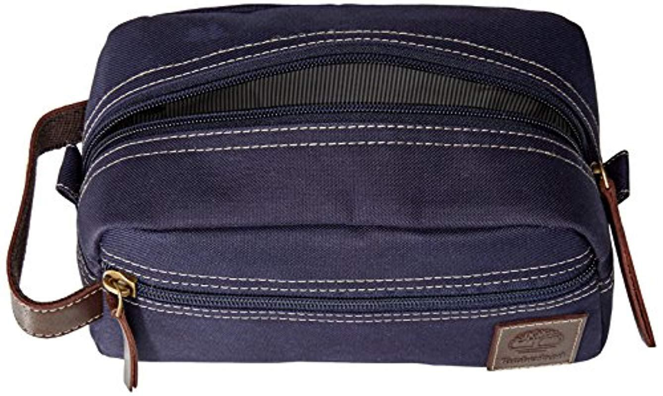 Timberland - Blue Travel Kit Toiletry Bag Organizer for Men - Lyst. View  fullscreen a23138ee0047f