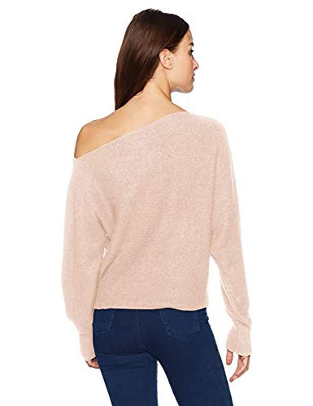 74d1c3460 ... Sleeve Catrina Off Shoulder Sweater - Lyst. View fullscreen