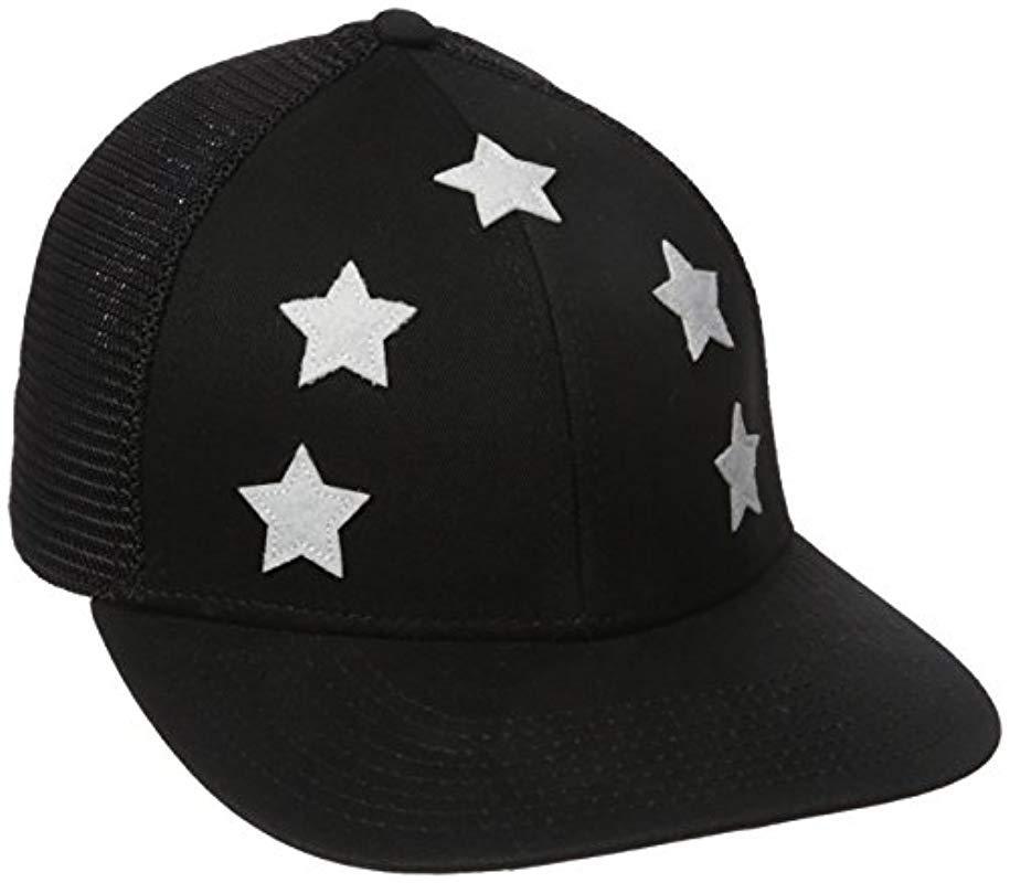 1c3d5b3b3ba Lyst - Alternative Apparel The Star Trucker in Black for Men - Save 70%