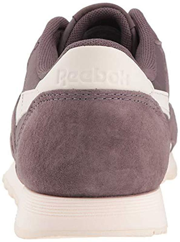 a33078a7c5a Lyst - Reebok Classic Nylon Walking Shoe
