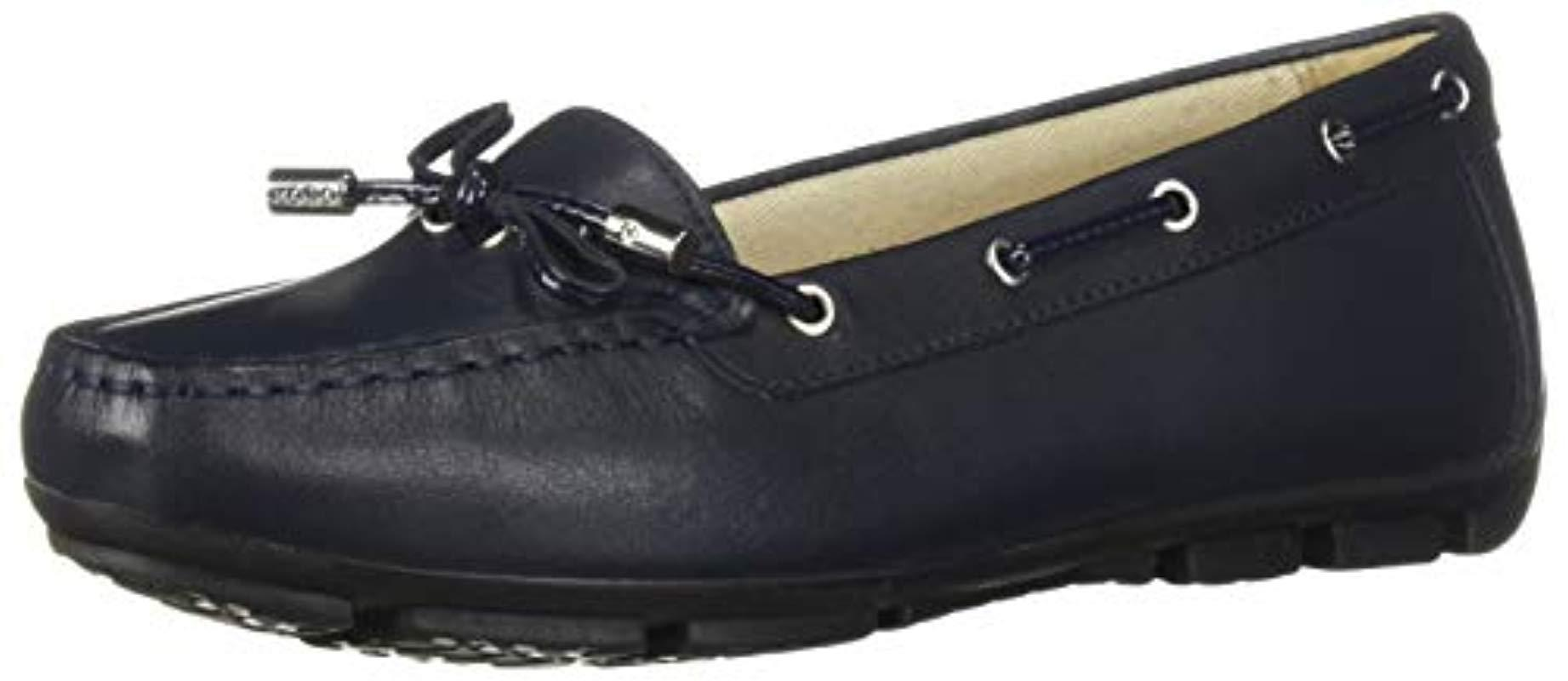 Lyst Marva 6 Moc In Loafer Blue Driving Geox Style 6rFxqUw6z