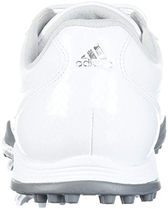 5bfa404c6439da Lyst - adidas W Adipure Dc Golf Shoe in White