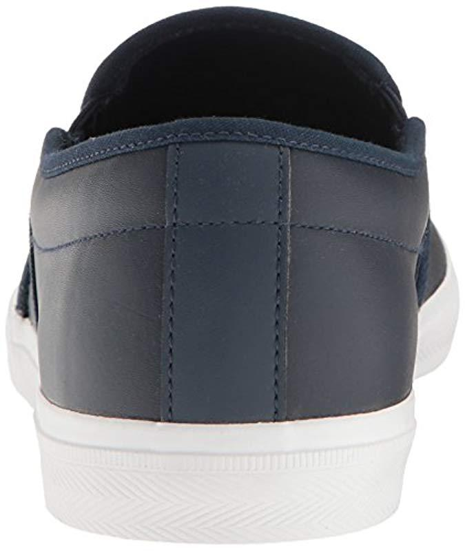 a983029fc57671 Lyst - Lacoste Gazon Fashion Sneaker in Blue for Men - Save 20%