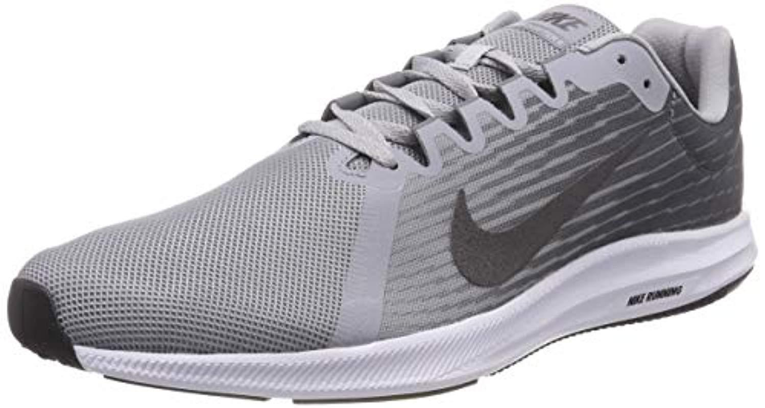 low priced df600 89e62 Nike. Mens Gray Downshifter 8 Running Shoes