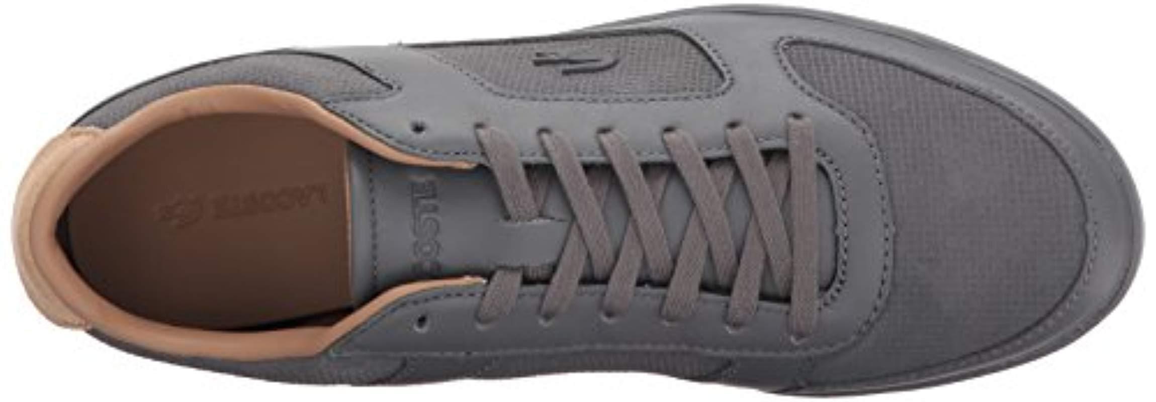 b5fb0deb17c3d4 Lacoste - Gray Court-minimal 317 1 Sneaker for Men - Lyst. View fullscreen