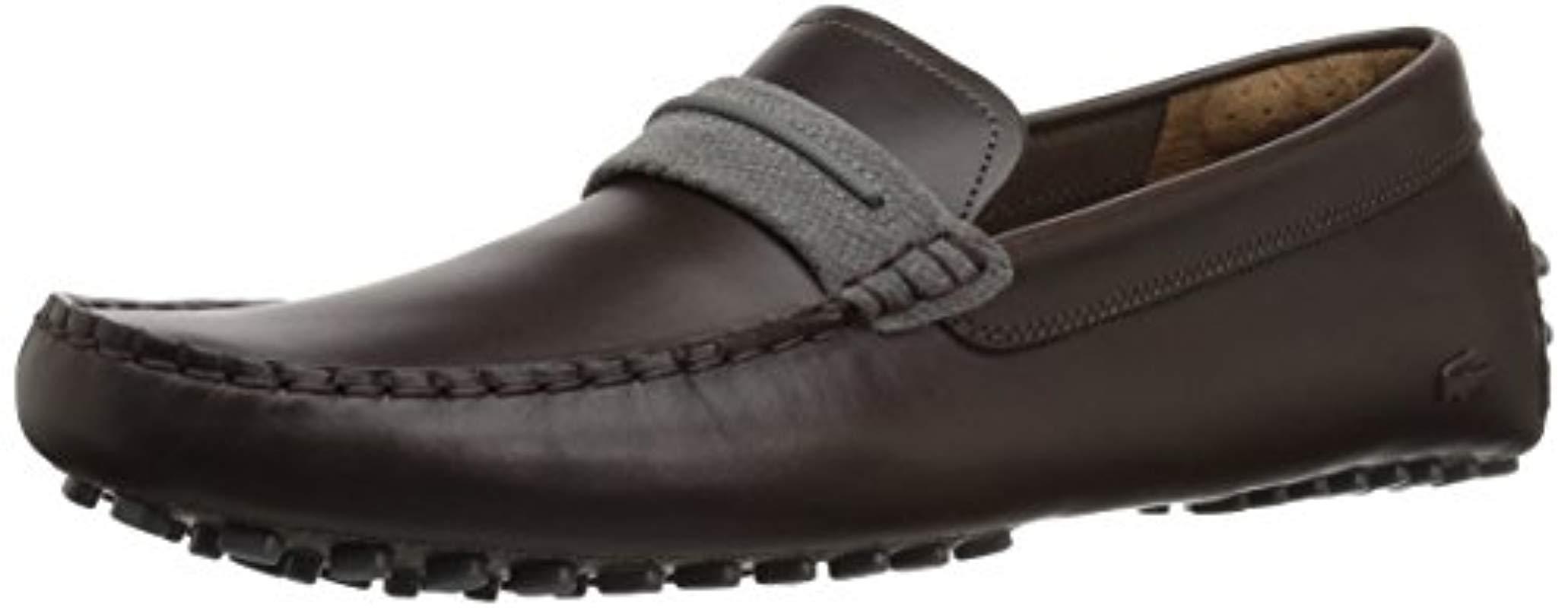 f33e534196bc46 Lyst - Lacoste Herron 317 1 Sneaker in Brown for Men