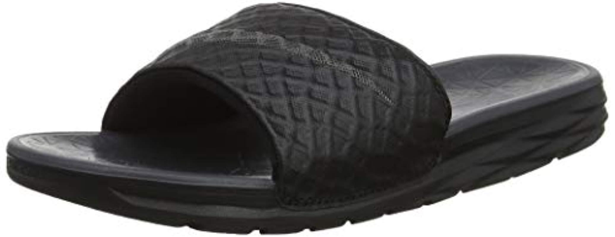 official photos 9cb41 2b338 Lyst - Nike  s Benassi Solarsoft Slide Beach   Pool Shoes in Black .