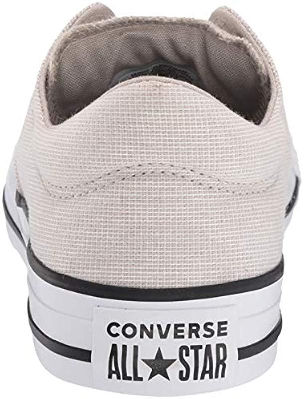 832eac951fdfba Lyst - Converse Chuck Taylor All Star Varsity Madison Low Top Sneaker in  White - Save 33%