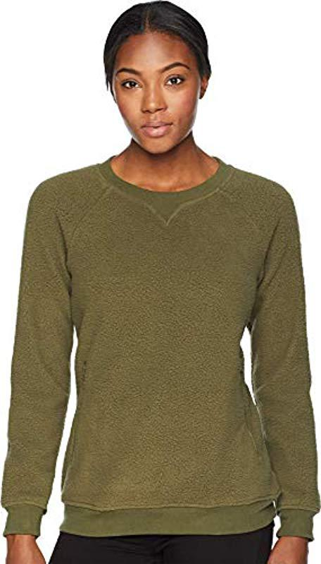 df36b7cf393 Lyst - Columbia Plus Size Feeling Frostytm Sherpa Pullover in Green ...