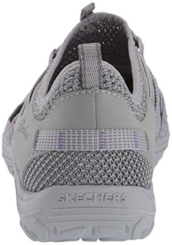 d65054209b82 Lyst - Skechers Reggae Fest-neap Closed Toe Sandals in Gray - Save 7%