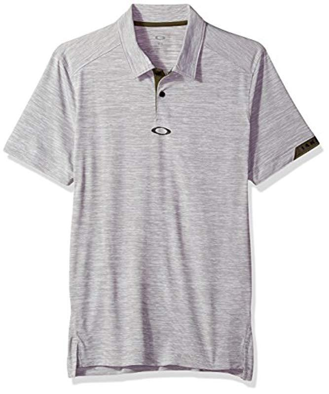 1fb1540cc7 Lyst - Oakley Gravity Polo in Gray for Men - Save 32%