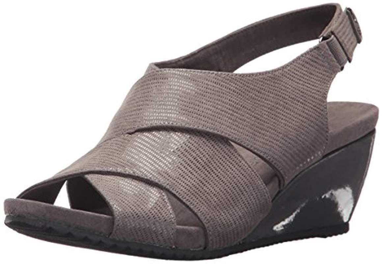 0850be85c0b Lyst - Anne Klein Carolyn Fabric Wedge Sandal - Save 51%