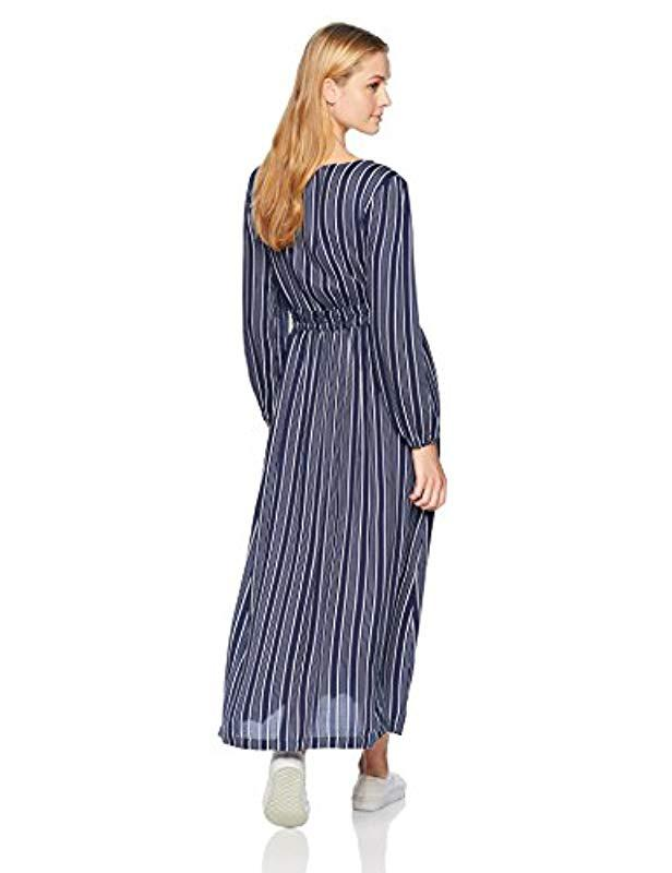 5ef1ef3752ce Roxy Subway Atmosphere Dress in Blue - Save 66% - Lyst