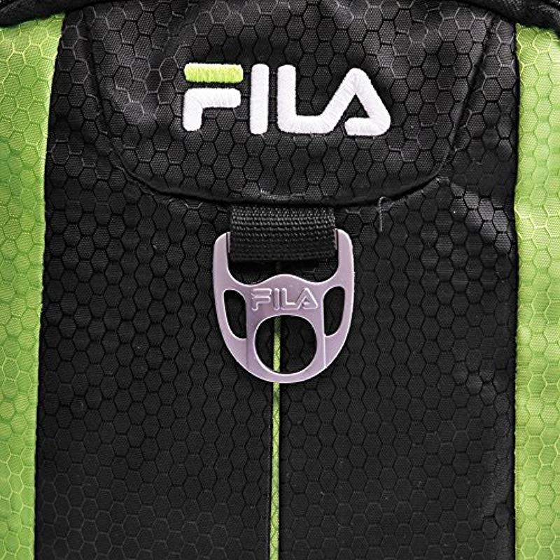 016dc308e925 Fila - Black Edge Backpack Laptop Backpack for Men - Lyst. View fullscreen