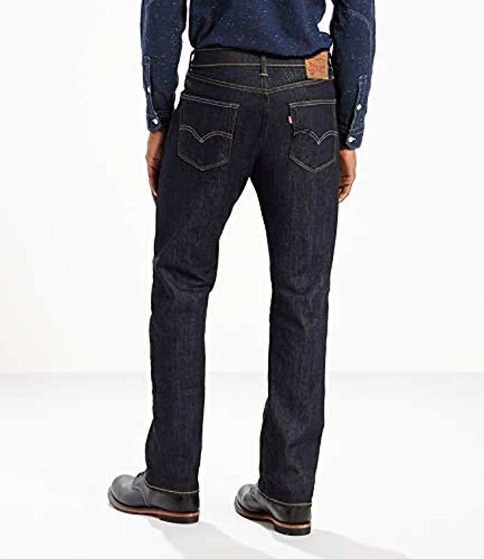 405c4b63707 Levi's - Black 505 Regular Fit Jean for Men - Lyst. View fullscreen