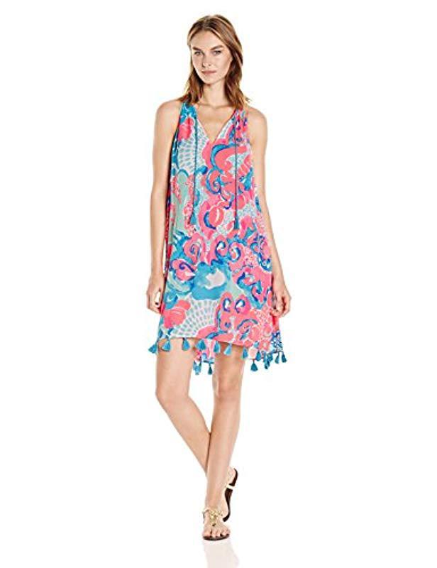 0c5ad3a5fd7a Lyst - Lilly Pulitzer Roxi Dress - Save 13.095238095238102%