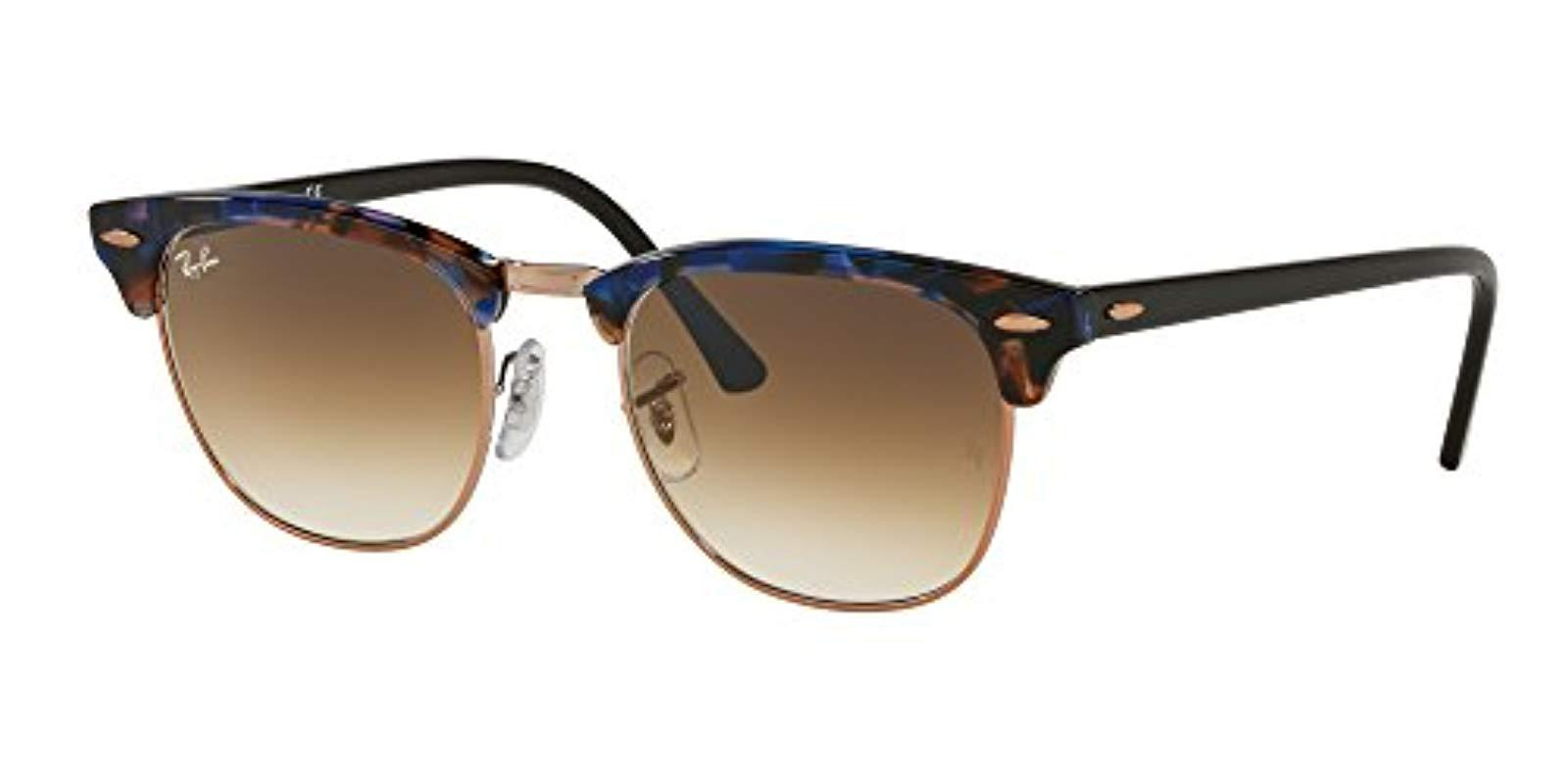 4efc5a188e Lyst - Ray-Ban Classic Clubmaster in Brown for Men