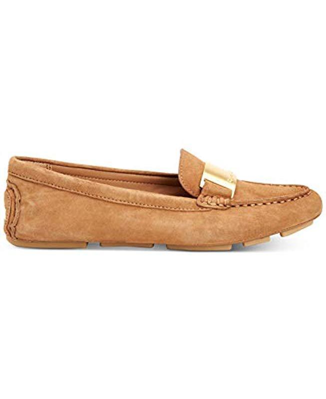 aa53710087b Lyst - Calvin Klein Lisette Loafer Flat - Save 38%