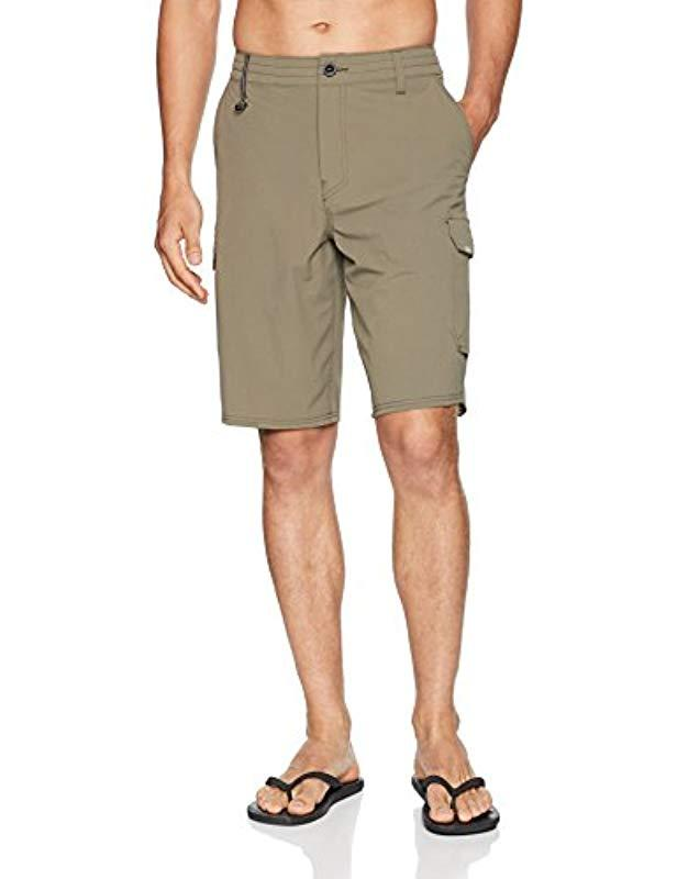 02c5b931c6 O'neill Sportswear. Men's Natural 21 Inch Outseam Cargo Pocket Hybrid  Stretch Walk Short