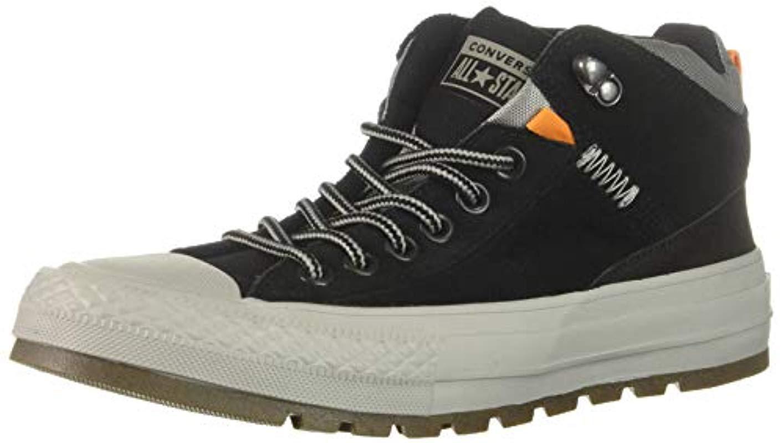 0dcbde10b0ab Lyst - Converse Chuck Taylor All Star Street Boot - Hi (black black ...