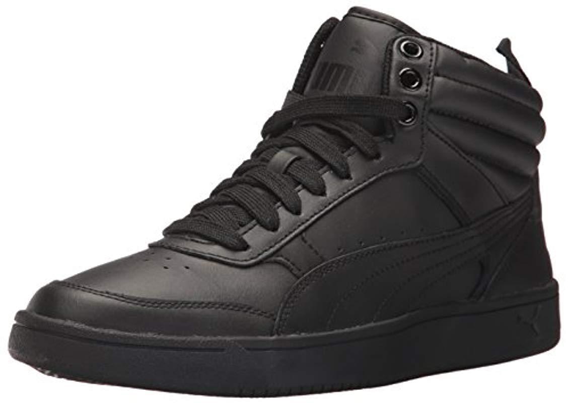 f3137224d15a Lyst - PUMA Rebound Street V2 L Sneaker in Black for Men - Save 2%