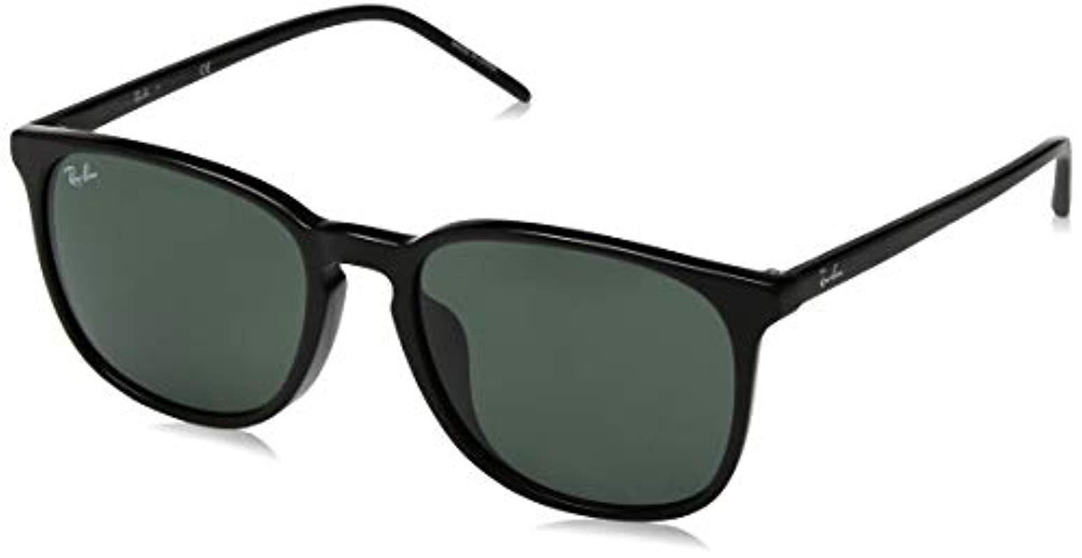53d84b25b2 Lyst - Ray-Ban Rb4387f Sunglasses in Black for Men