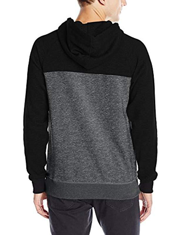 316515fe8f2 Lyst - Billabong Balance Half Zip Pullover Hoody in Black for Men - Save 20%