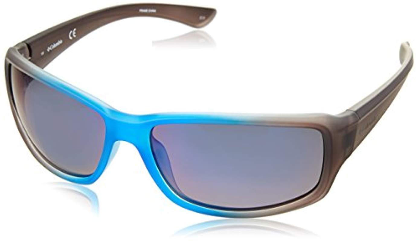9e567a1566 Lyst - Columbia Point Reyes Rectangular Sunglasses in Blue for Men