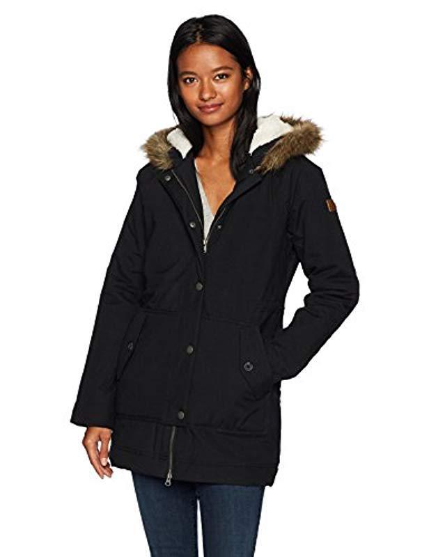 b370337d5e Roxy - Black Mountain Song Jacket - Lyst. View fullscreen